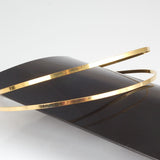 Gold Plated Double Tiara Base