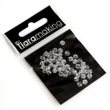BDi Tiara Making Clear Crystal Bicone Beads for Jewellery Making