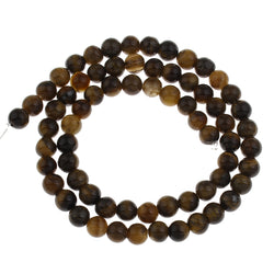 Tigers Eye Beads, Natural Semi Precious Beads with Wholesale Discounts