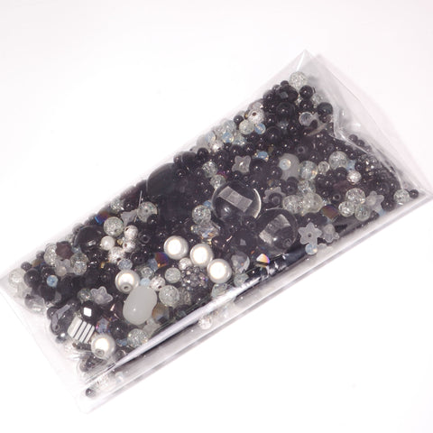 Midnight Mixed Bead Bag - 250g