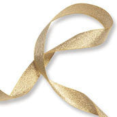 Metalic Ribbon - Gold (3mm)