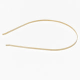 Gold headband, for tiara making, millinery and crafts