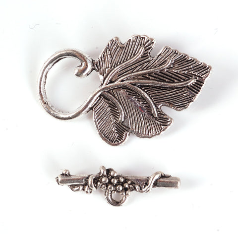 BDi Leaf Toggle Clasp For Jewellery Making