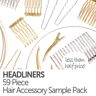Headliners - 59 Piece Hair Accessory Sample Pack