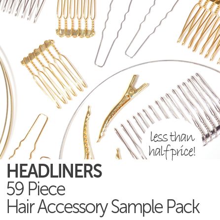 Hair Accessory Findings Sample Pack