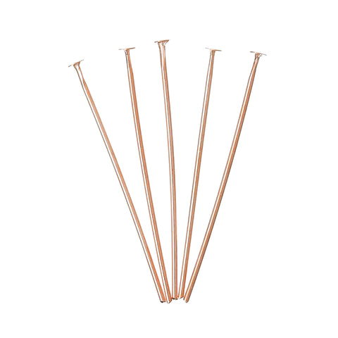 Rose gold headpins for jewelry making, tiara making, DIY weddings and wedding accessories