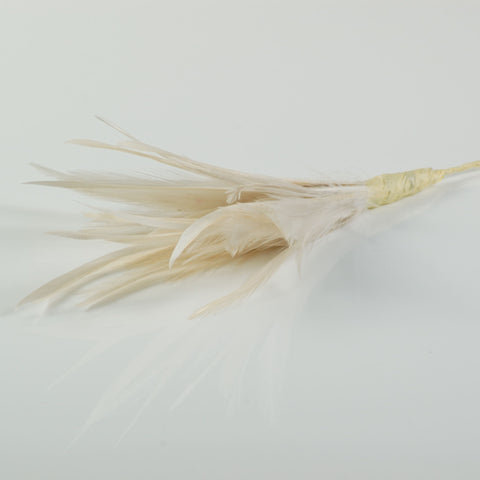 ivory feather pick