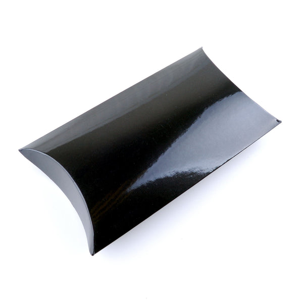 Black glosss pillow boxes for jewellery
