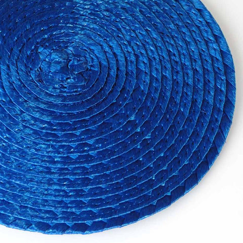 Fascinator Base Comb - Saphire Blue (10cm)