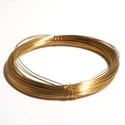 Brass Wire  (0.4mm x 10m)