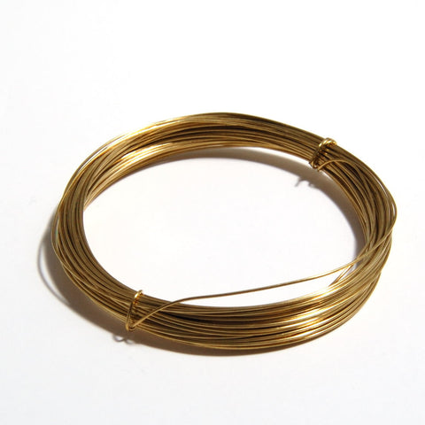 Brass Wire (0.8mm x 6m)