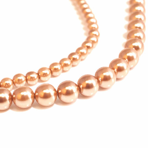Champagne Pearl Beads