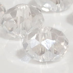 clear crystal beads from BDI