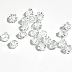 Crystal beads.  Clear Cut Glass Crystal Beads for Jewellery Making