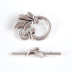 BDi clover toggle clasp for jewellery making