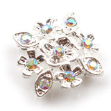 Diamante Findings Flower 004