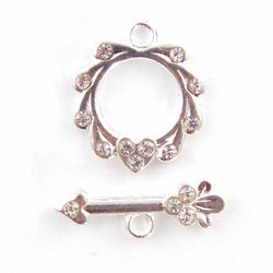 Diamante Toggle Clasp