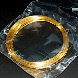 Gold Plated Wire (0.8mm x 6m)