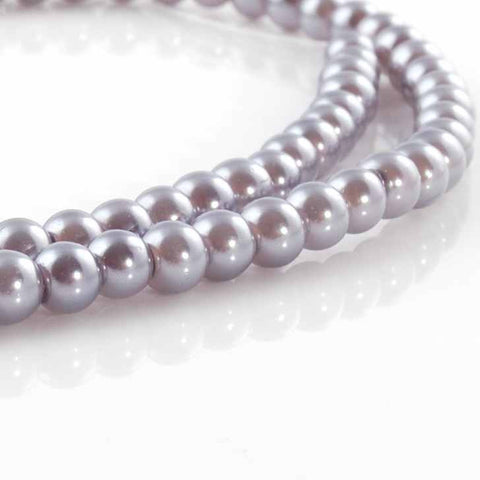 BDi Round Pearl Beads Victorian Lilac