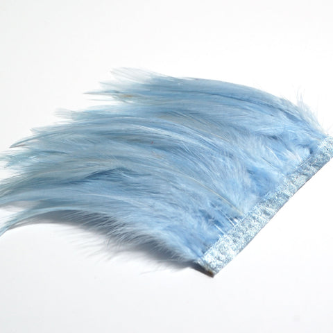 Hackle Feathers - Blue mix 50cm in total (in various lengths)