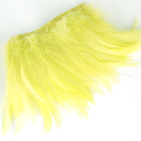 lime hackle feathers for crafts