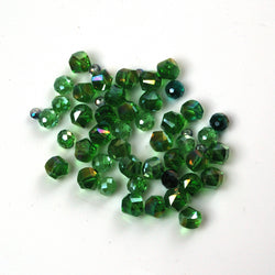 Green Mixed Bead Bag