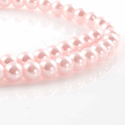 BDi Round Pearl Beads Ice Pink
