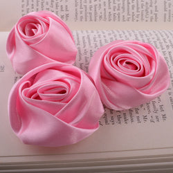 pink millinery roses