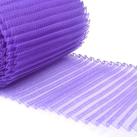 purple millinery supplies crin fabric