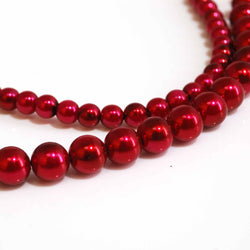 Red Beads - Pearls