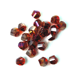 Faceted Crystal Twist Beads