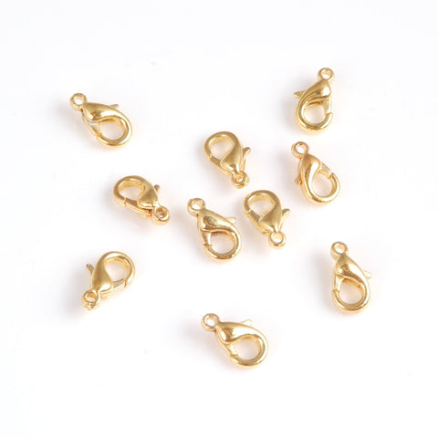 Trigger Clasp - Gold Plated (9mm) (pack of 10)