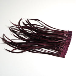 Biot Feather - Wine (10cm x 15cm)