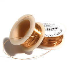 0.8mm Non Tarnish Wire Reels - Gold
