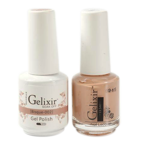 Gelixir - Matching Color Soak Off Gel - 002 Bisque