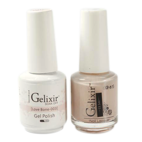 Gelixir - Matching Color Soak Off Gel - 003 Love Bone