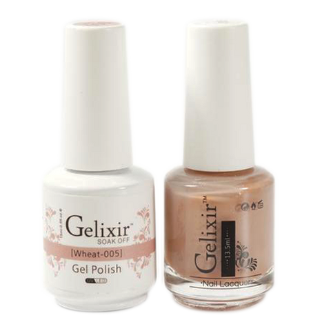 Gelixir - Matching Color Soak Off Gel - 005 Wheat