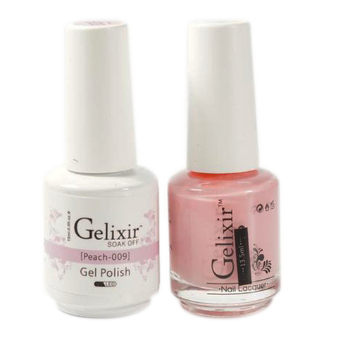 Gelixir - Matching Color Soak Off Gel - 009 Peach