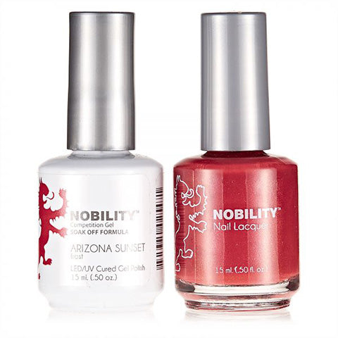 Nobility Gel Polish & Nail Lacquer, Arizona Sunset - NBCS097
