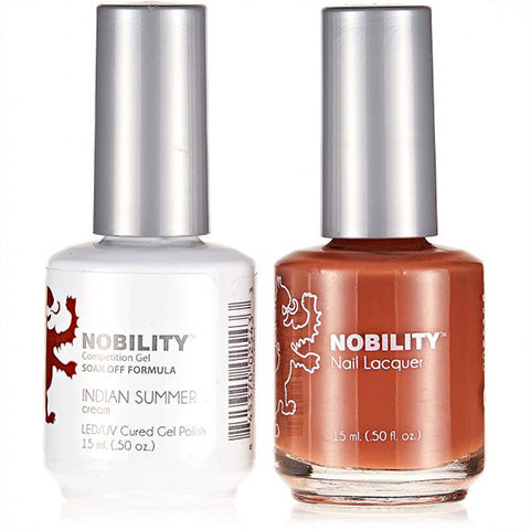 Nobility Gel Polish & Nail Lacquer, Indian Summer - NBCS093