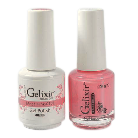 Gelixir - Matching Color Soak Off Gel - 010 Angel Pink