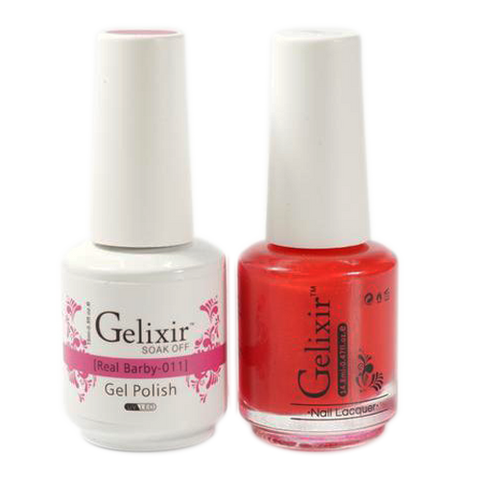 Gelixir - Matching Color Soak Off Gel - 011 Real Barby