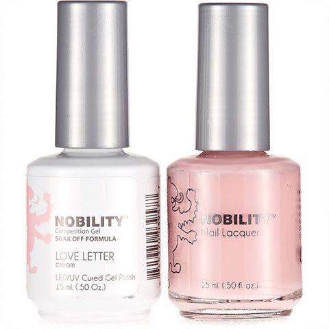 Nobility Gel Polish & Nail Lacquer, Love Letter