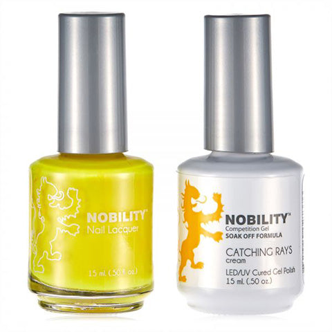 Nobility Gel Polish & Nail Lacquer, Catching Rays - NBCS117