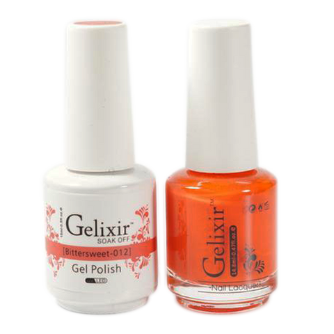 Gelixir - Matching Color Soak Off Gel - 012 Bittersweet