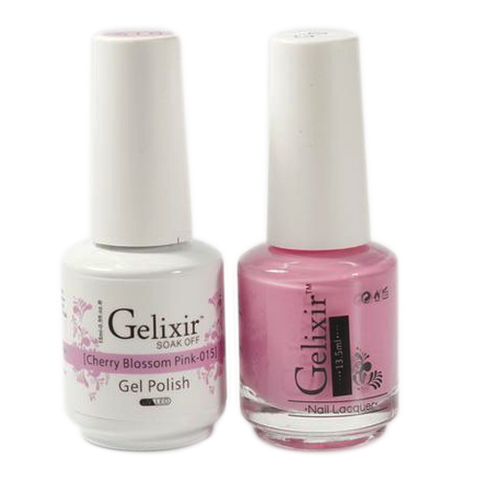 Gelixir - Matching Color Soak Off Gel - 015 Cherry Blossom Pink