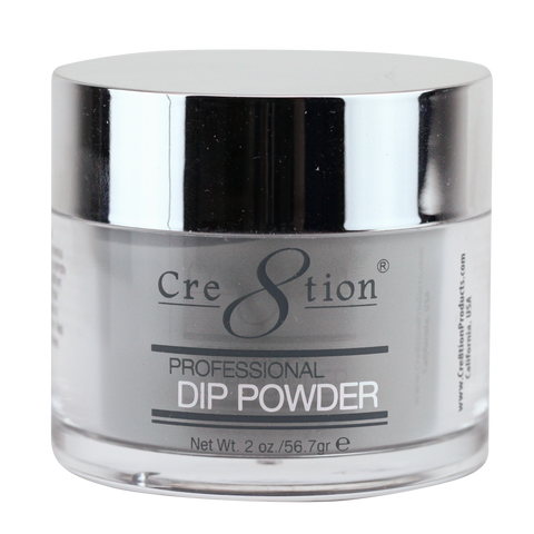 Cre8tion  Dipping Powder  Rustic Collection RC01 Onyx Grey 2 oz