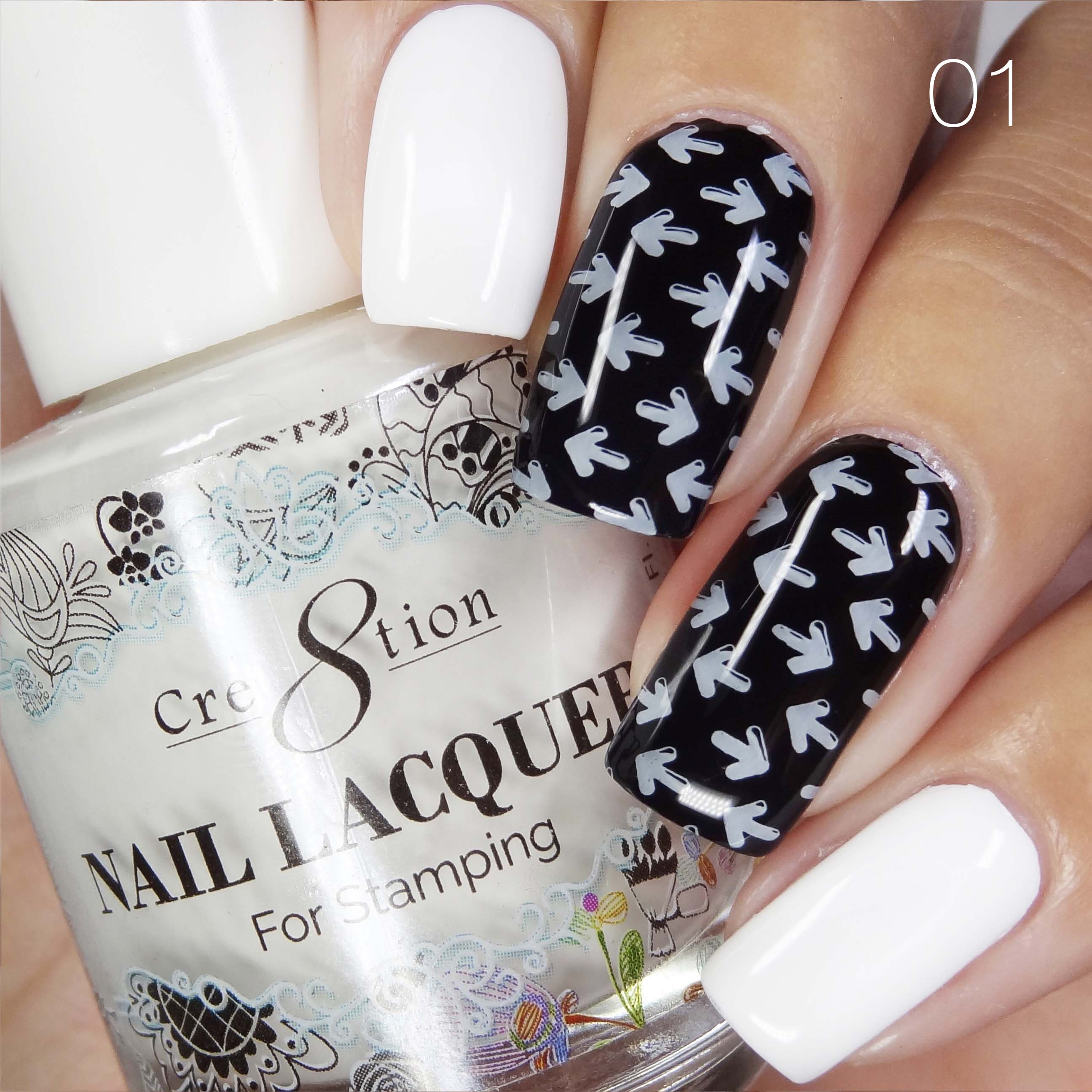 Cre8tion - Stamping Nail Art Lacquer 01