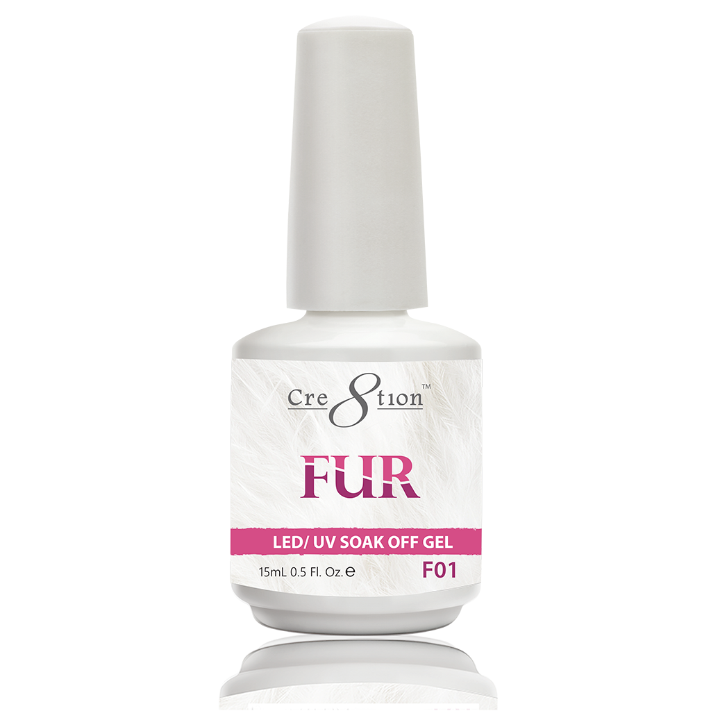 Cre8tion Fur Soak Off Gel - F01