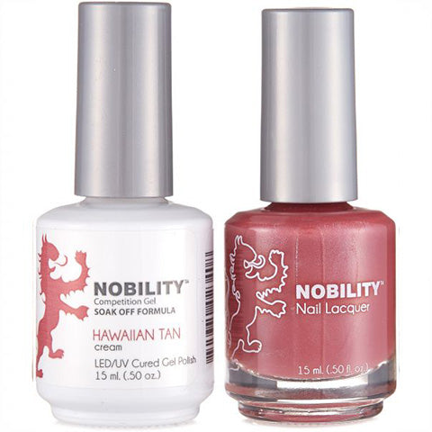Nobility Gel Polish & Nail Lacquer, Hawaiian Tan - NBCS022